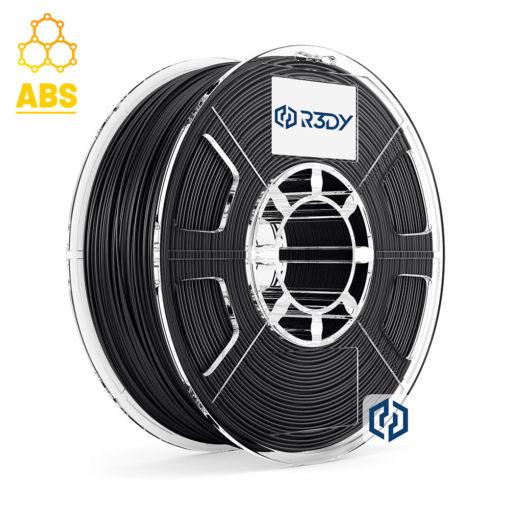 Filamento ABS Preto 1,75mm - 1 Kg