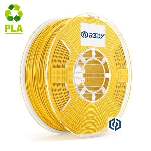 Filamento PLA Amarelo 1,75mm - 1 Kg