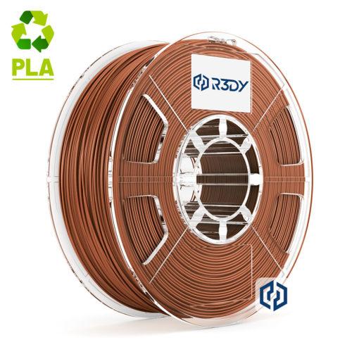Filamento PLA Marrom 1,75mm - 1 Kg