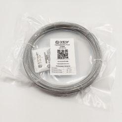 Filamento PLA Cinza 1,75mm - 100 gramas