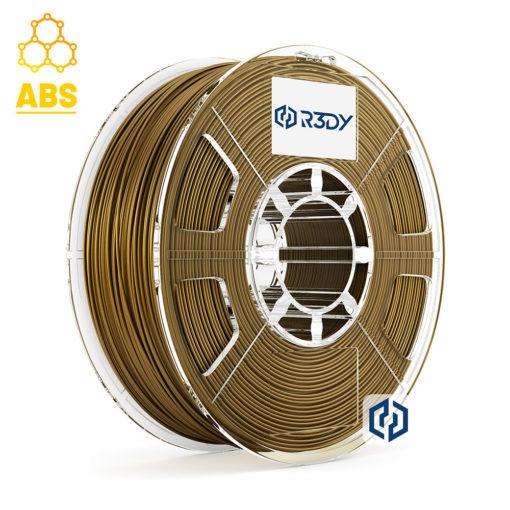 Filamento ABS Dourado 1,75mm - 1 Kg