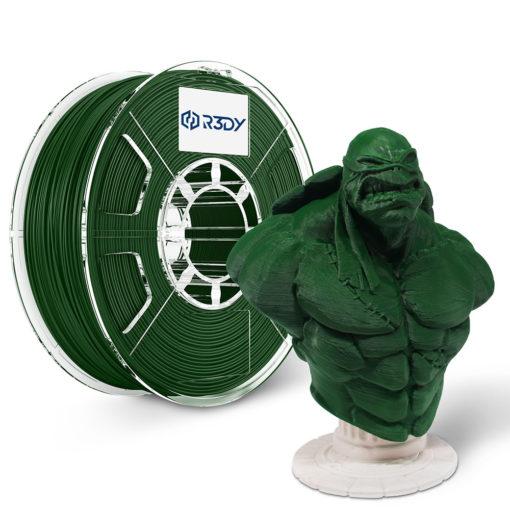 Filamento 3D Verde Escuro